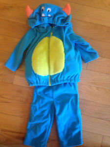 Carter's size 12 month costume Lil Monster Peterborough Peterborough Area image 1
