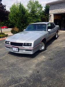 1986 Monte Carlo SS PRISTINE CONDITION
