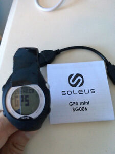 Soleus GPS Mini watch (fitness, running)
