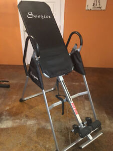 Soozier inversion table