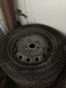 205/55 R16 Cooper snow tires and rims
