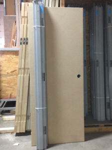 Great Deal on 20 Minute Fire Rated Wood Door & Metal Frame