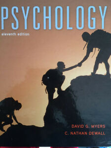 Pyschology eleventh edition  - ISBN 9781464140815