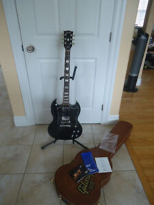 2014 Gibson SG Standard in Ebony Finish 120th Anniversary
