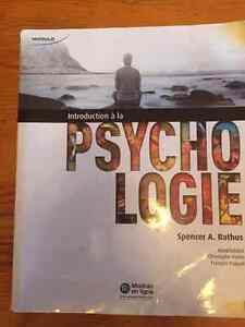 Introduction à la psychologie Gatineau Ottawa / Gatineau Area image 1