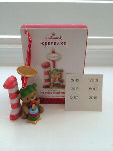 HALLMARK KEEPSAKE – MY FIRST CHRISTMAS – NEW in pkg