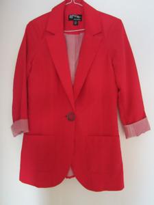Veston femme, blazer, veste, manteau, 8,10,16 ans,1x large