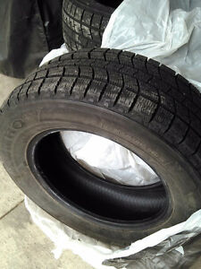 Excellent condition Kumho winter tires