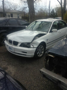 2000 BMW 323I PARTS FOR SALE