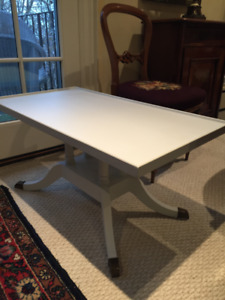 Duncan Phyfe Painted Coffee Table