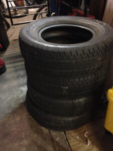 Tires Firestone & Matrix tires P205/75 R14 $10 each
