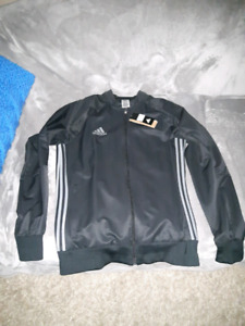 ADIDAS Black jacket. Brand new with tags. $35