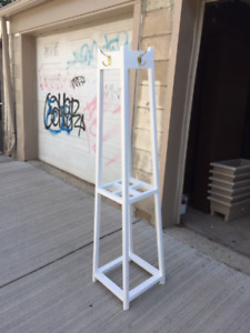 ARTS & CRAFTS MISSION-STYLE ANTIQUE COAT RACK
