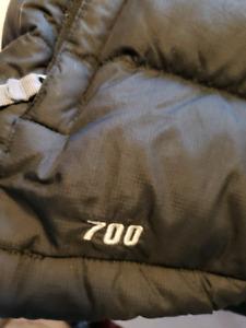 Women's North Face vest 700 down fill black small