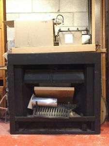 """New Never used Gas fireplace insert 42 1/2"""" wide"""