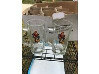 6 Captain Morgan Spiced Glasses New