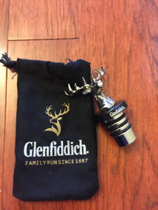 Glenfiddich alcohol stopper, whisky, scotch