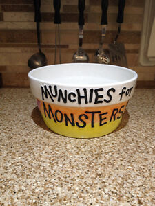 Halloween Decor Bowl - Munchies for Monsters