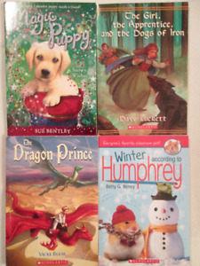 Four First Chapter Books