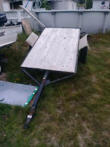 4x8 trailer homemade