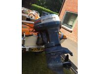 Evinrude 50 hp outboard starts first time every time
