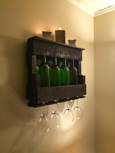 Handcrafted Wine Rack
