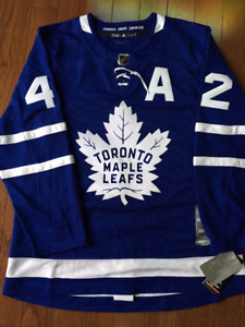 Tyler Bozak Toronto Maple Leafs Autographed Authentic Jersey