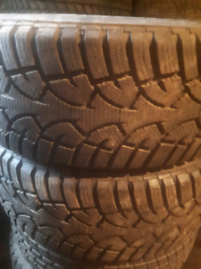 2 pairs of 205 60 15 WINTER TIRES