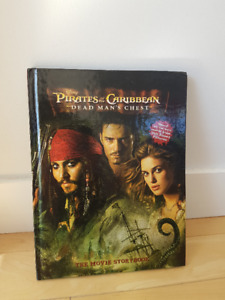 Disney Pirates of The Caribbean Dead Man's Chest Movie Storybook