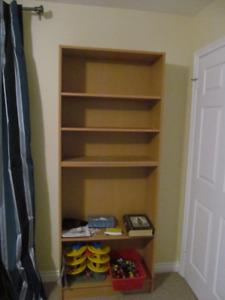 Sturdy Bookcase Shelving Unit perfect for students
