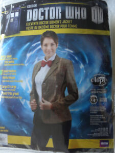 Womens 'Doctor Who (eleventh doctor) Costume jacket, size medium