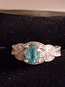 GENUINE GEMSTONE RING
