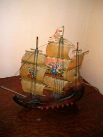 Vintage Mayflower Lamp