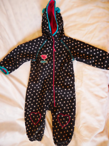 One piece soft shell fall suit - Souris Mini - 18 months