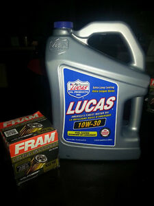 10W-30 High Performance Motor Oil 5L + FRAM Oil filter XG16
