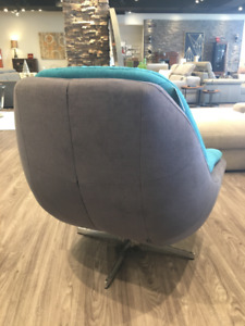 ACCENT SWIVEL ARMCHAIRS - CUSHY - MADE IN EUROPE