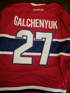 Galchenyuk Authentic Jersey XL