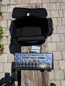Mesa Mini Dual Rectifier Twenty-Five with Case and Foot Switch