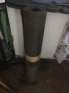 rouleaux de papier noire a toiture