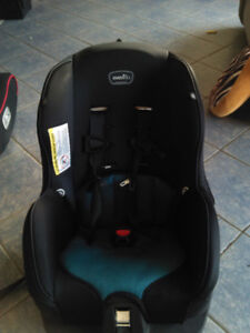 Barely used evenflo toddler car seat