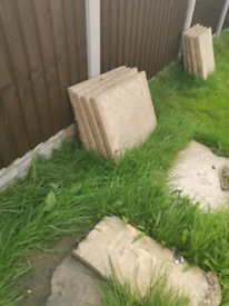 FREE slabs approx 25