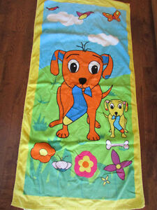 Kids Dog Beach towel