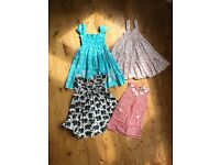 Four pretty summer dresses aged 3-4 years
