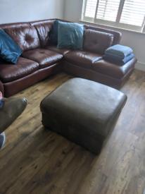 Free large storage footstool