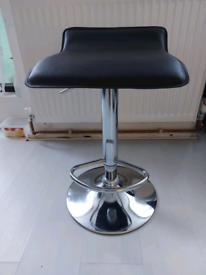 Like New Black Stool Bar Chair