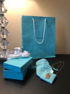NEW Tiffany & Co. 18k Gold Chain & Charm | Value $1,600+