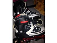 SFR inline skates adjustable size from 4 to 6