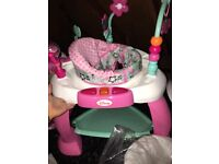 Baby activity entertainer (mini mouse)