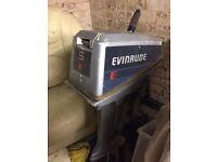 Evinrude 5hp long shaft 2 stroke outboard