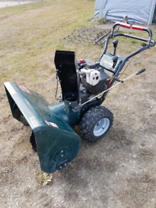 33 inch dual stage craftsman snowblower